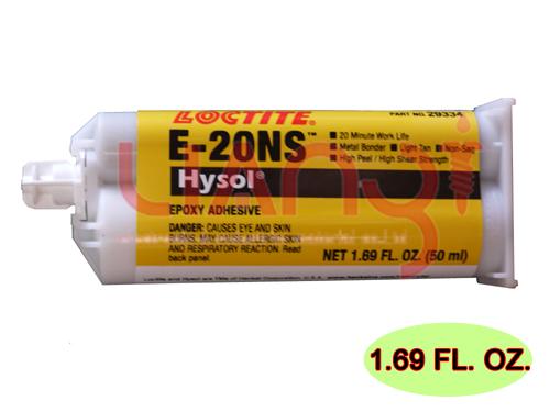 雙液型環氧樹脂接著劑 E-20NS 50ml Loctite